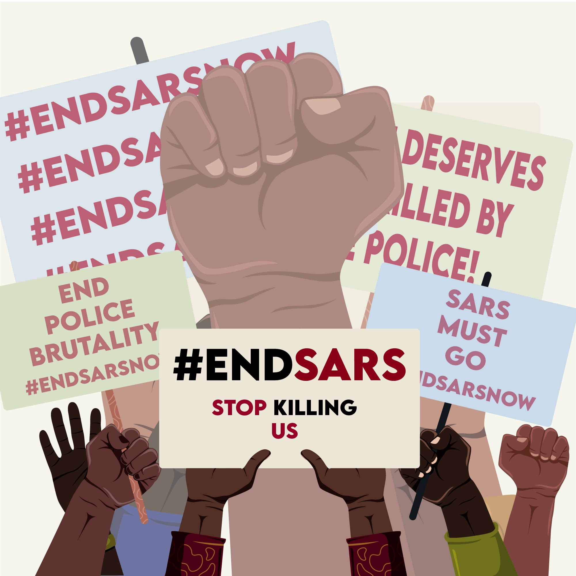 Two Questions On Nigeria's Democracy as the #EndSARS Movement Tips